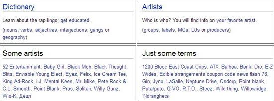 The Rap Dictionary