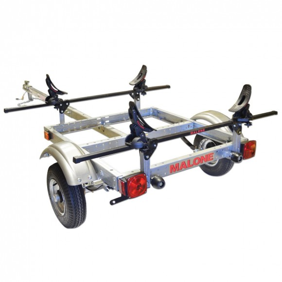 Malone XtraLight Single Kayak Trailer Package