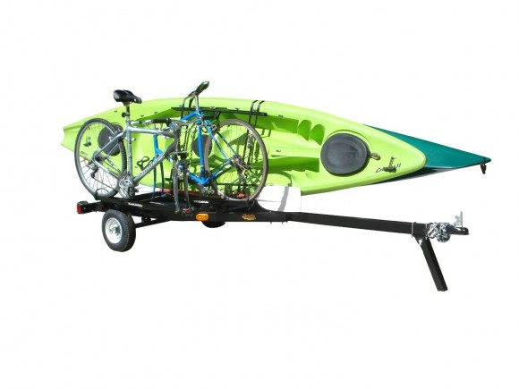Multi-sport Trailer for Kayaks, Sups, Canoes, & Bikes