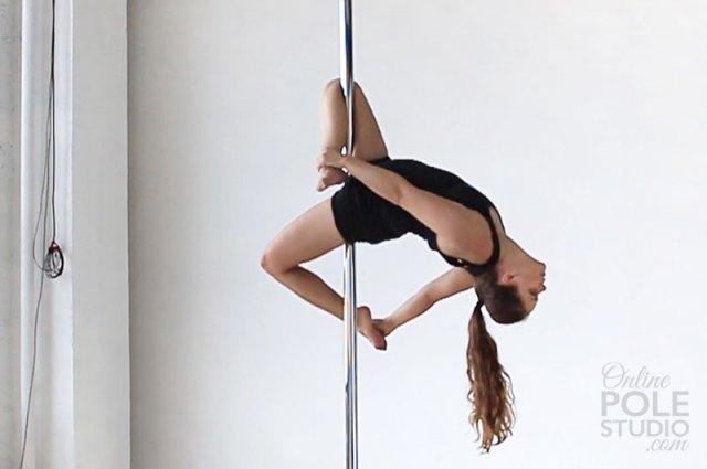 Intermediate Pole Dance Moves