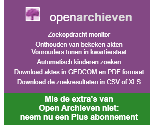 Open Archieven banner