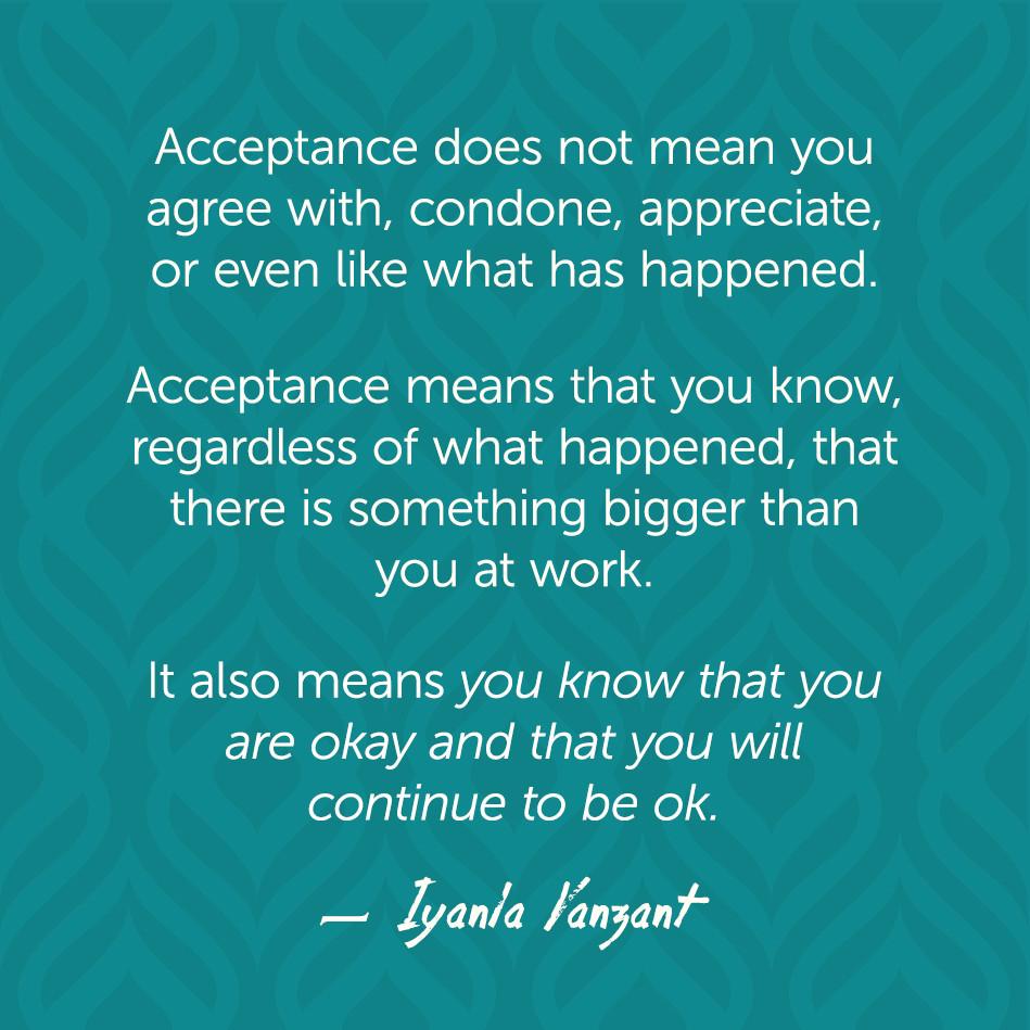 Image result for acceptance