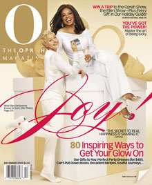 Oprah and Ellen O Magazine cover