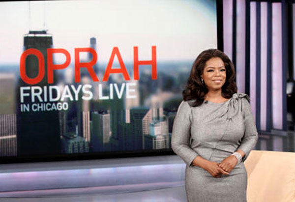 Oprah's show announcement
