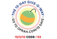 O's 12-Day Holiday Give-O-Way Sweepstakes december 3 icon