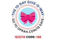 O's 12-Day Holiday Give-O-Way Sweepstakes december 5 icon