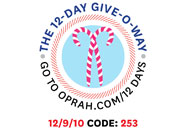 O's 12-Day Holiday Give-O-Way Sweepstakes december 9 icon