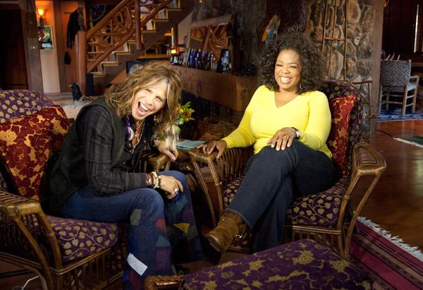Oprah Interviews Steven Tyler Aerosmiths Steven Tyler