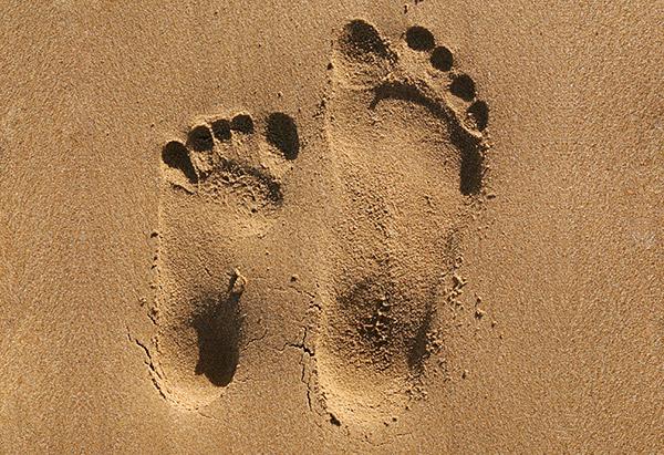 Image result for mother son footsteps