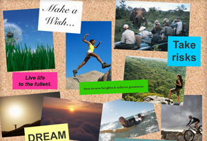 O Dream Board: Envision your best life