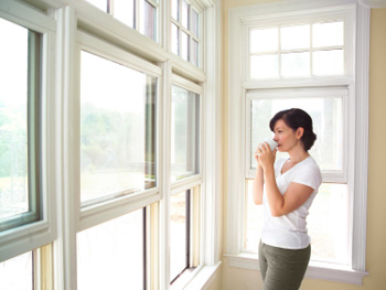Replace single-pane windows with double panes.