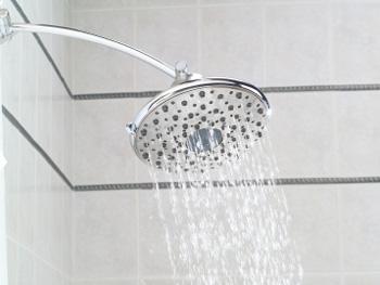 Switch to a low-flow showerhead.