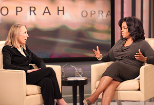 Oprah and Geneen Roth