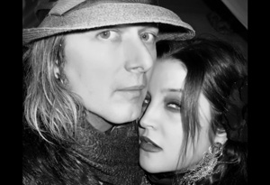 Lisa Marie Presley and her husband Michael Lockwood