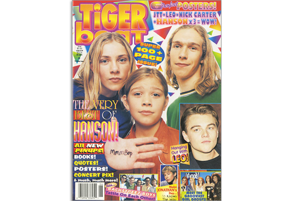 June 1998 Tiger Beat cover