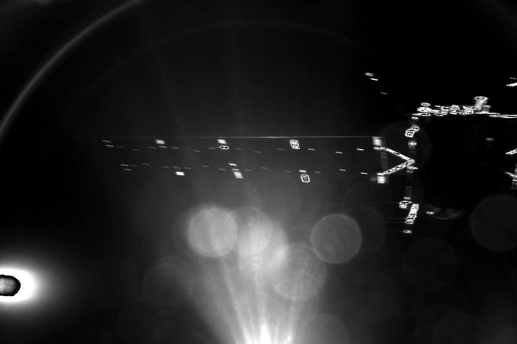 A Philae búcsúfotója a Rosettáról a leválás után.