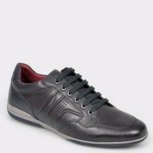Pantofi GEOX bleumarin, U946TB, din piele naturala