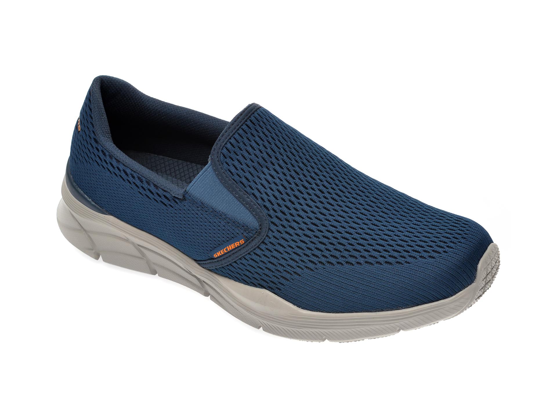 Pantofi sport SKECHERS bleumarin, Equalizer 4.0, din material textil