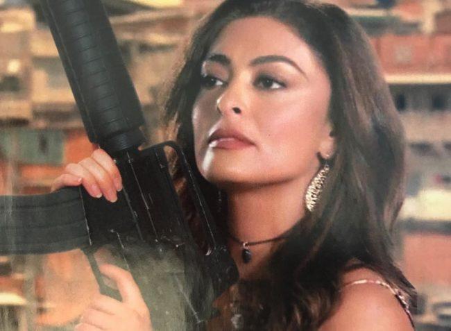 Bibi Perigosa volta a atacar em A Dona do Pedaço na Globo, na pele de Maria da Paz (Foto: Montagem/Revista TV Brasil)