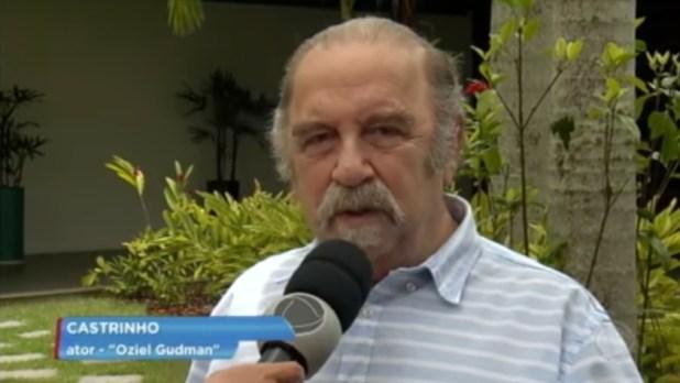 O ator Castrinho (Foto: Reprodução)