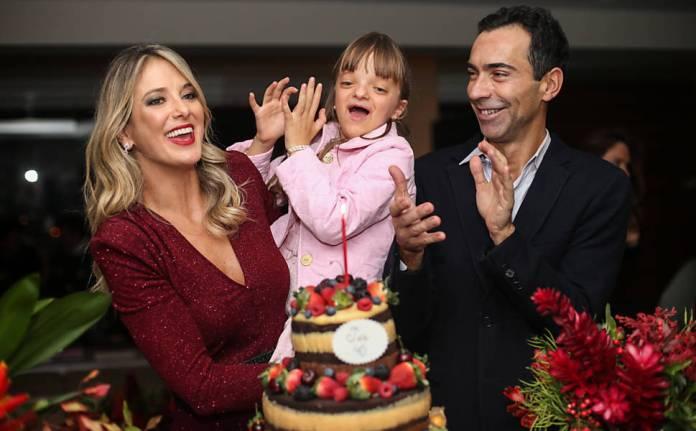 Ticiane Pinheiro, Rafaella justus e César Tralli (Foto: Divulgação)