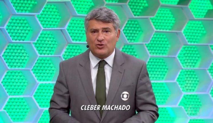 Com Cléber Machado futebol volta a Globo
