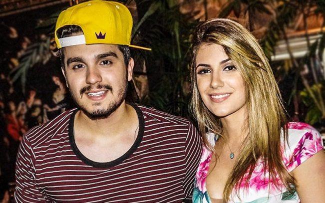Luan Santana e a amada, Jade Magalhães (Foto: Divulgação)