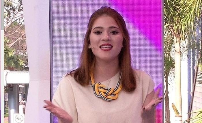 Ana Clara comanda o Vídeo Show (Foto: Reprodução)