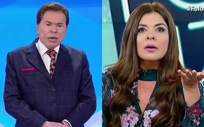 Silvio Santos e Mara Maravilha (Foto: Reprodução)