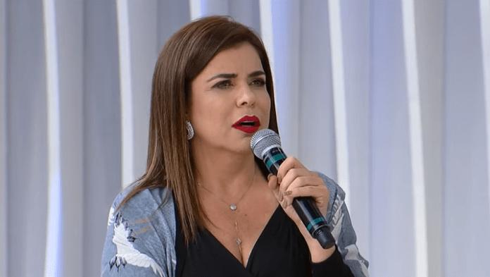A apresentadora Mara Maravilha (Foto: Reprodução)