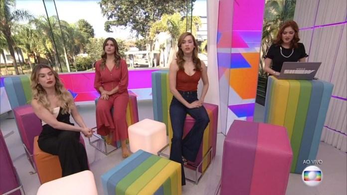 As apresentadoras do Vídeo Show, da Globo. (Foto: Reprodução)