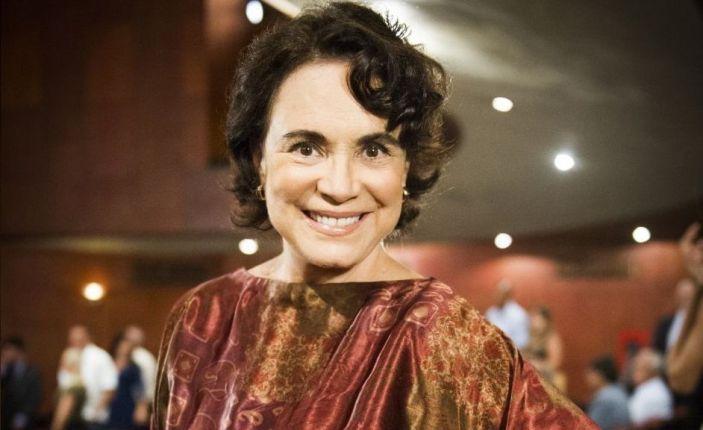 """A atriz Regina Duarte foi envolvida em """"treta"""" com José de Abreu (Foto: DIvulgação)"""