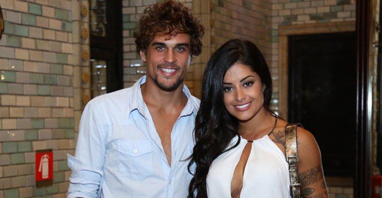 Aline Riscado e Felipe Roque (Foto: Reprodução)