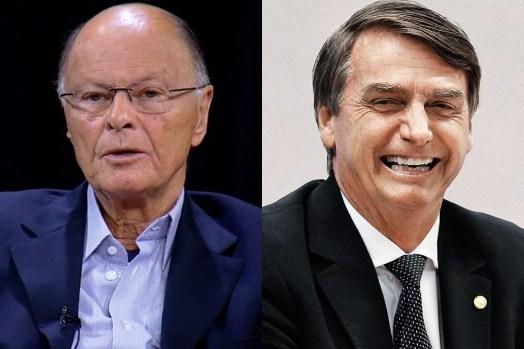 Edir Macedo e Jair Bolsonaro (Foto: Divulgação/Montagem)