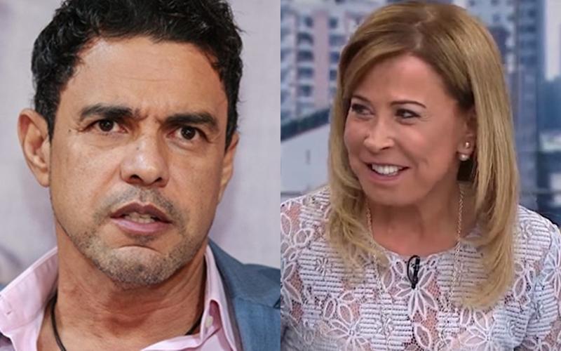 Zilu Camargo e Zezé Di Camargo (Foto: Reprodução)