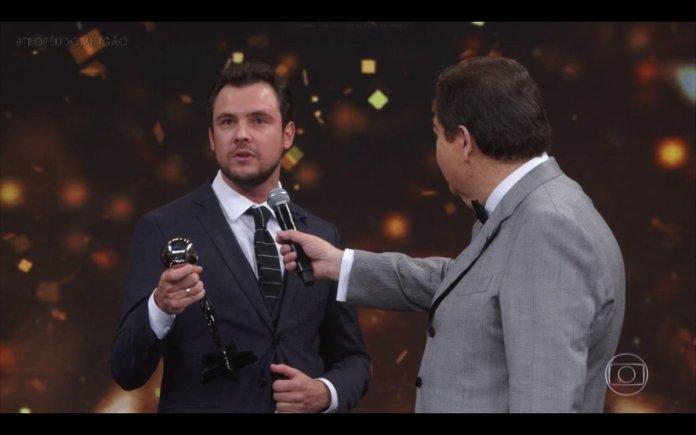 Sérgio Guizé no Melhores do Ano 2018 (Foto: Reprodução)