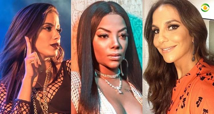 Anitta, Ludmilla e Ivete Sangalo