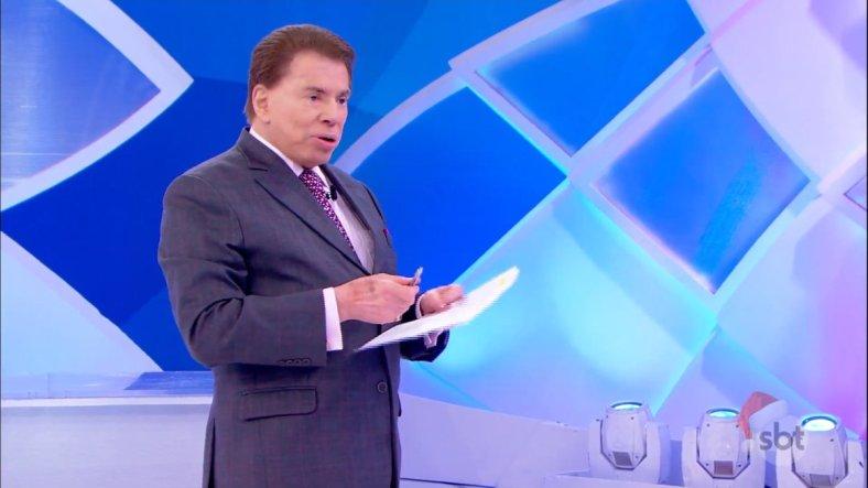 O apresentador Silvio Santos. (Foto: Reprodução)