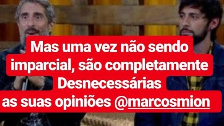 Mensagem compartilhada por Carlinhos Aguiar no Instagram. (Foto: Reprodução/Instagram)