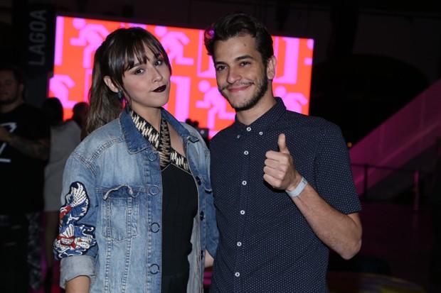 Thati Lopes e namorado (Foto: Reprodução)