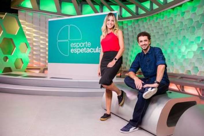Bárbara Coelho e Felipe Andreoli (Foto: João Cotta/ Globo/ Divulgação)