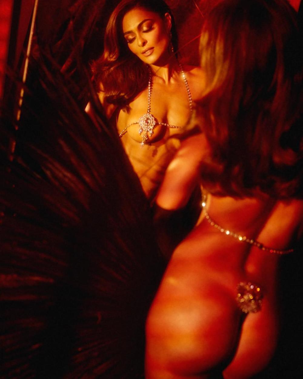 5c3d61b01 Juliana Paes faz temperatura subir em ensaio sensual (Foto  Reprodução  Instagram)