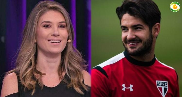 Alexandre Pato e Rebeca Abravanel estão namorando (Foto: Montagem/TV Foco)