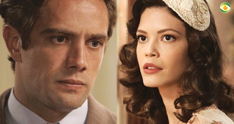 Danilo e Julia em Espelho da Vida (Foto: Montagem/TV Foco)