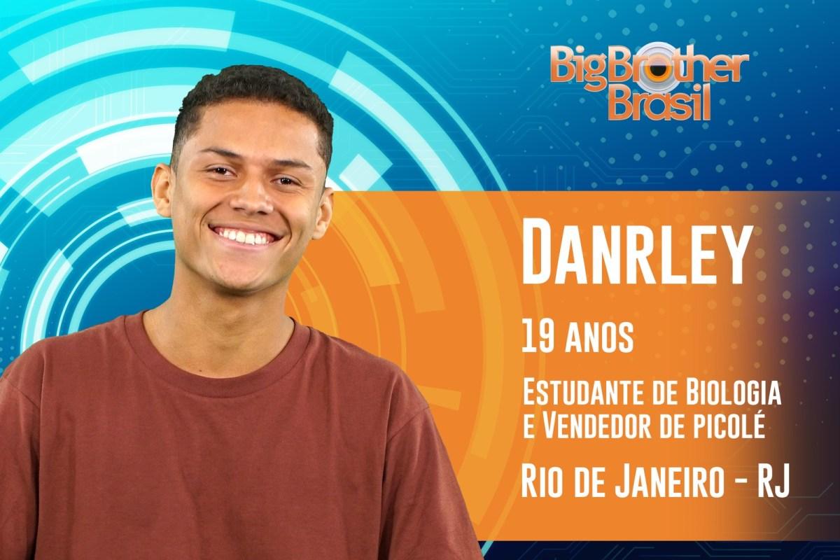Darley tem 19 anos e estará no BBB19