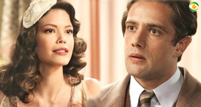 Danilo e Cris/Julia discutem em Espelho da Vida
