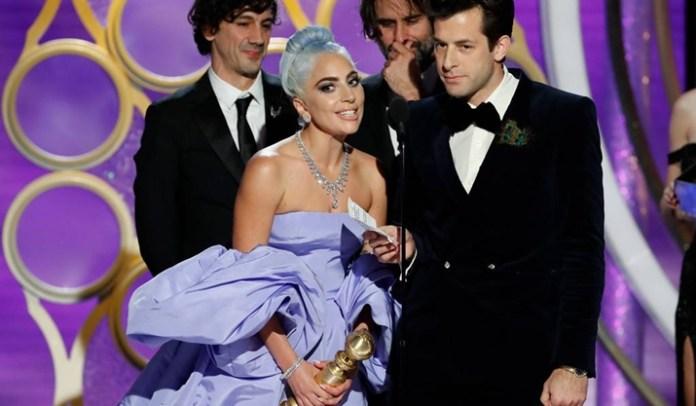Lady Gaga ganhou o prêmio de Melhor Canção no Globo de Ouro. (Foto: Divulgação)