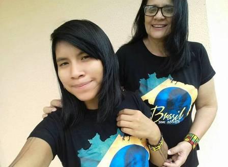 Ministra de Bolsonaro e sua filha (Foto: Reprodução)