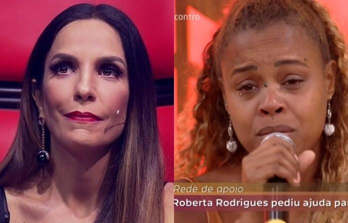 A cantora Ivete Sangalo e a atriz Roberta Rodrigues (Fotos: Reprodução/Globo)