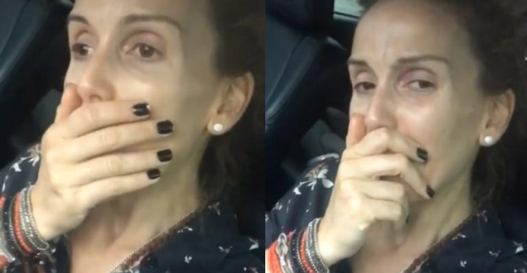 Mariana Ferrão vai ao velório de Ricardo Boechat (Foto: Divulgação)